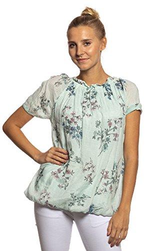 en Chica Italia elegantes Hecho Abbino a moda Blusas 5 Ni colores de Ig022 Camisas Camisas Transici Mujeres wI48qg