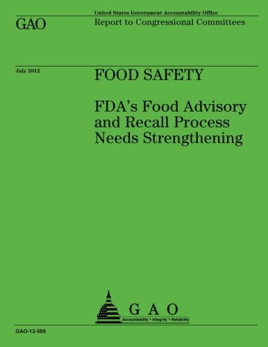 Food Safety: FDA's Food Advisory and Recall Process Needs - Food Fda Recalls