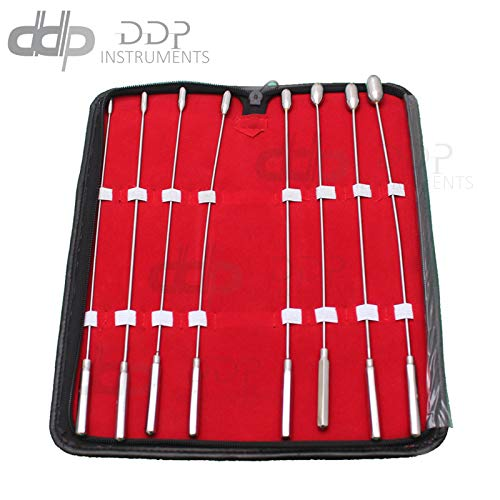 DDP Bakes Rosebud Sounds Dilator 8 Pcs Surgi Stainless Steel