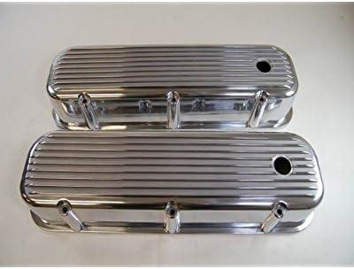 Polished Aluminum Bb ChevyFinned