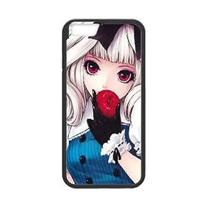 Anime Girls iPhone 6 Plus 5.5 Inch Cell Phone Case Black SUJ8468711