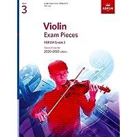 Violin Exam Pieces 2020-2023, ABRSM Grade 3, Part: