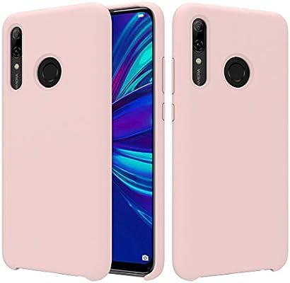 CoverTpu Funda Huawei P Smart Plus 2019 Silicona, Rosa Funda ...