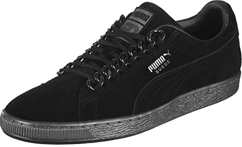 Classic Puma Noir Chain x Suede Chaussures OSqwS57
