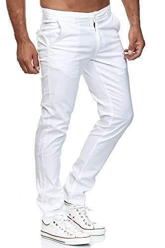 Elara Pantalon Chino Homme Régulier Slim Fit Chunkyrayan
