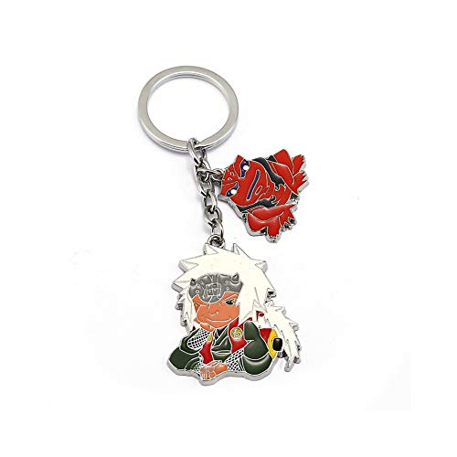 J&C Family Owned Brand Classic Anime Master Jiraiya The Toad Sage Keychain w/Gift Box