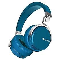 Bluedio Vinyl Auriculares Inalámbricos Bluetooth Giratorios con sonido estéreo 3D y micrófono