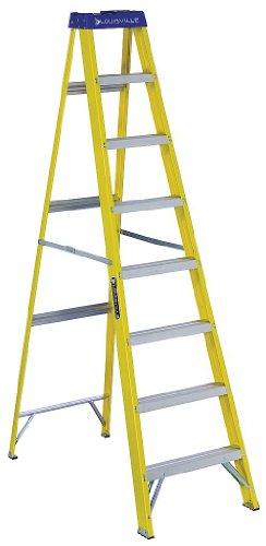 Louisville Ladder 8' Fiberglass Step Ladder, 250 lbs Duty Ra