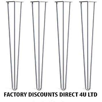Durchschnittliche Tischhöhe haarspange tischbeine 71 1 cm standard tisch höhe 3 rod 12 mm stahl