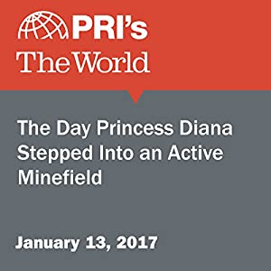 The Day Princess Diana Stepped Into an Active Minefield