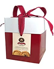 MARY MACLEOD'S SHORTBREAD Gluten-Free Large Red Gift Box of Mixed Shortbread Cookies, 480 Grams