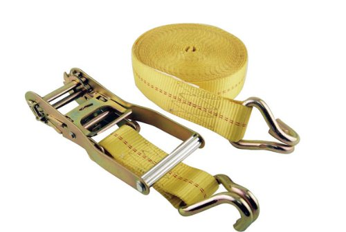 Erickson 78627 2-Inch x 27-Inch 10, 000 pounds Load Limit Ratcheting Tie-Down Strap with Double J-Hooks Erickson Mfg. Ltd.