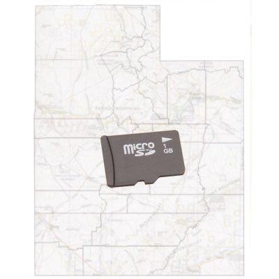 Trail Tech Voyager GPS/Computer Micro SD Map Card Utah