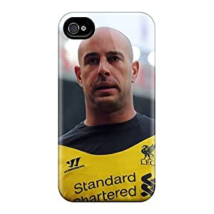 New Arrival The Player Of Napoli Pepe Reina For Iphone 4/4s Case Cover Kimberly Kurzendoerfer
