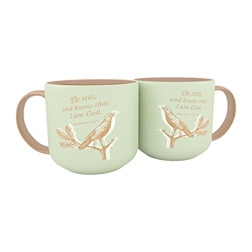 Jumbo Christrian Mug – Be Still and Know That I Am God