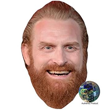 All Our Masks Pre-cut Kristofer Hivju Game Of Thrones Tormund Giantsbane