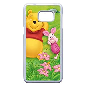 Samsung Galaxy S6 Edge Plus Phone Case White Many Adventures of Winnie the Pooh NLG7854463