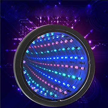 Sensory Infinity Mirror LED Tunnel Wall Relaxing Calm Stage