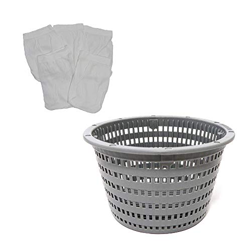 - CMP B-203 Pool Skimmer Basket Plus Filter Saver Sock Sleeve for Hayward SPX1094FA