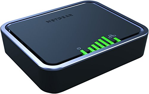 NETGEAR 4G LTE Modem with Two Gigabit Ethernet Ports – Instant Broadband Connection and Automatic 4G LTE/3G Backup (LB2120)