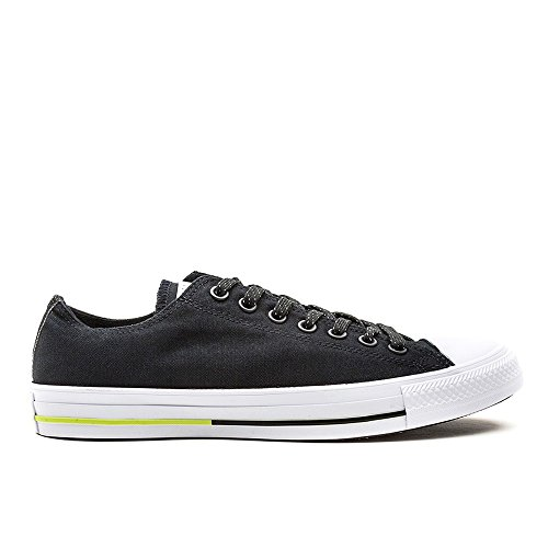 Converse All Star OX Shield Black Canvas Trainers