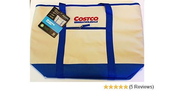 3e089d8a452 Amazon.com  Costco Kirkland Giant Flexible Extra Large 12 Gal Cooler Bag  Tote (Blue)  Garden   Outdoor