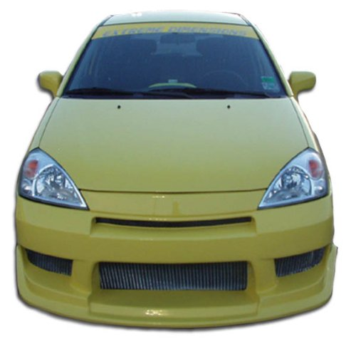 (Duraflex ED-PBH-898 Drifter Front Bumper Cover - 1 Piece Body Kit - Compatible For Suzuki Aerio 2002-2007)