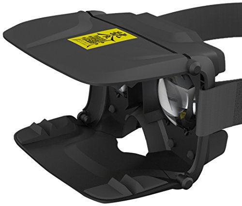 "ANTVR 3D VR Box Folding VR Glasses Virtual Reality Head Mount Light Weight Goggle Cardboard for 5""-6"" Jitao - Black"