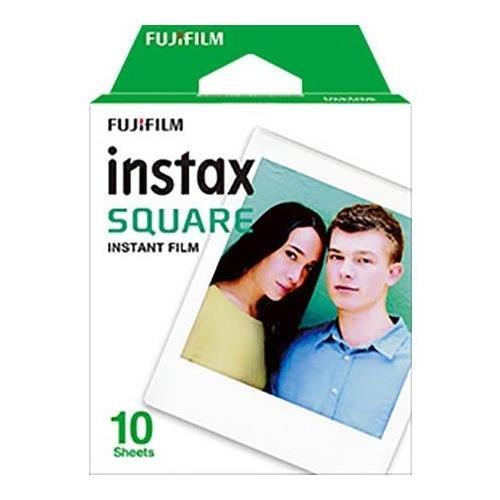 Polaroid Square - Fujifilm Instax Square Instant Film - 10 Exposures