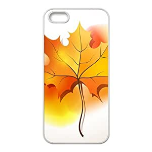 The Beautiful Maple leaf Hight Quality Plastic Case for Iphone 5s