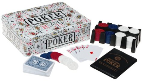Poker Game - Tin (White) - Kid Poker
