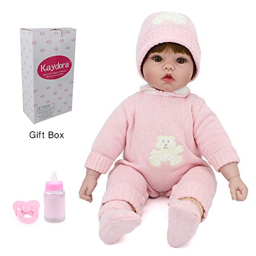 Kaydora Reborn Baby Doll 22 Inch Reborn Toddler Adorable Girl Doll, Named Ellen