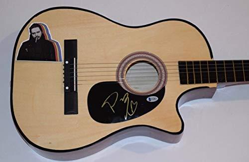 - Post Malone Signed Autographed Acoustic Guitar BEERBONGS & BENTLEYS Beckett COA