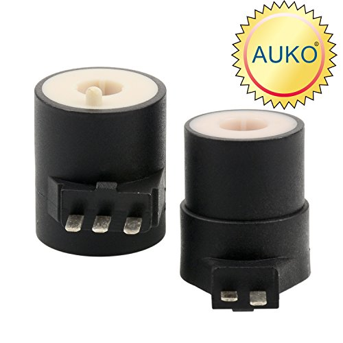 AUKO 279834 Dryer Gas Value Coil Kit Value Ignition Solenoid Replacement for Whirlpool Maytag Kenmore Dryer Parts Replaces AP3094251 PS334310 12001349 by (Ge Replacement Coil)