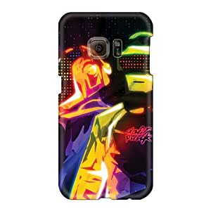 Protective Hard Phone Cases For Samsung Galaxy S6 With Support Your Personal Customized High Resolution Daft Punk Band Series JonBradica