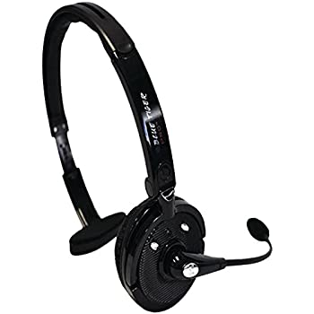 34b7929d47c Blue Tiger Trucking Accessories - Pro Wireless Bluetooth Headphones -  Premium Professional Truckers' Noise Cancelling Headset with Microphone -  Dual Device ...