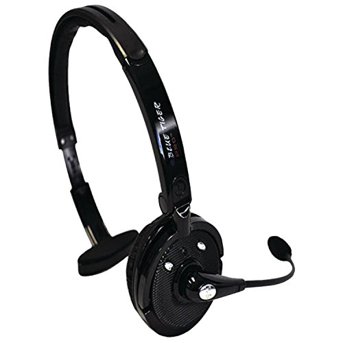 - Blue Tiger Trucking Accessories - Pro Wireless Bluetooth Headphones – Premium Professional Truckers' Noise Cancelling Headset with Microphone – Dual Device Connection with No Wires - 20 Hour Talk Time