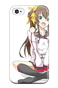 Premium Case With Scratch-resistant/ Infinite Stratos Case Cover For Iphone 4/4s