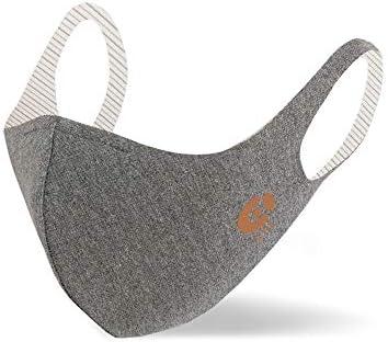 COPPER Mask Charcoal カッパーマスク 洗える 立体型 消臭マスク チャコール Lサイズ [海外直送品]