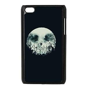 iPod Touch 4 Case Black HALLOWEEN TOWNSLI_789657