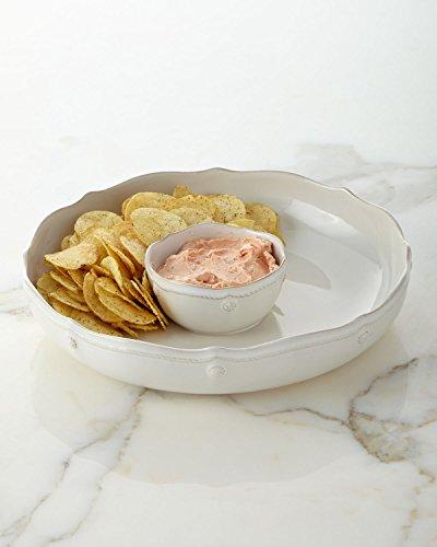 Juliska Berry and Thread Whitewash Chip 'N Dip