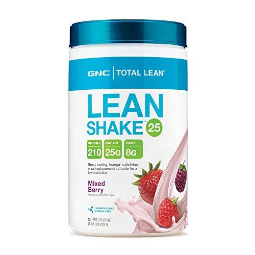 GNC Total Lean Rich Chocolate Shake 29.3 oz - 25 Grams of Protein