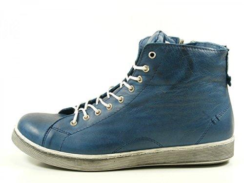 Andrea Conti 0341500 Zapatos de cuero para mujer Blau