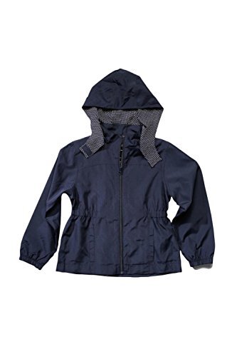 French Toast Little Girls Transitional Jacket, Navy,  Small/6/6x