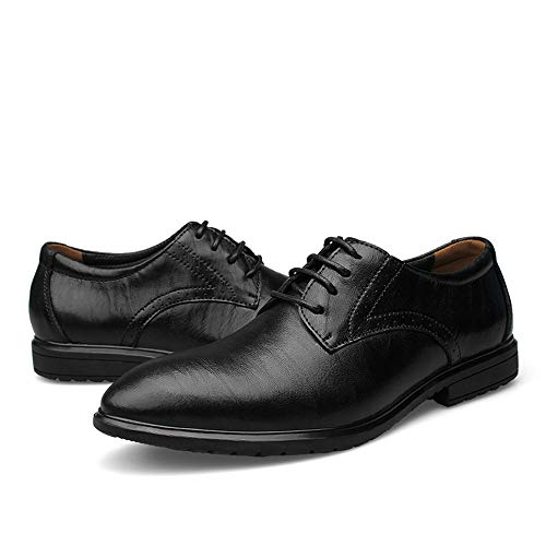 Scarpe Heighten Casual Oxford Nero Invisible Cricket Uomo da New Formal Shoes Business Inner da Classic tPBwd0q0