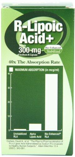 Genceutic Naturals, Nat R Lipoic Acid 300Mg 60 Cap Ea 1 by Genceutic Naturals