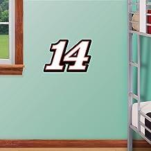 "Tony Stewart #14 Teammate NASCAR Fathead- 11\""x11\"""