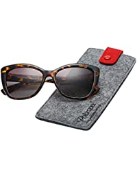 Polarized Women's Vintage Square Jackie O Cat Eye Fashion...