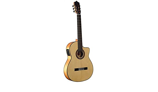 Guitarra Flamenca Martinez MFG-AS Cutaway - EQ Fishman PSY-301 ...