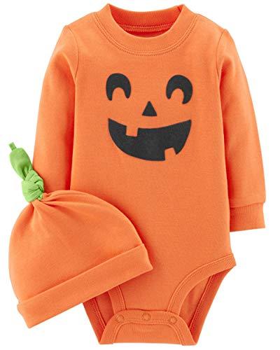 Carter's 2-Piece Pumpkin Hat and Collectible Bodysuit 18 -